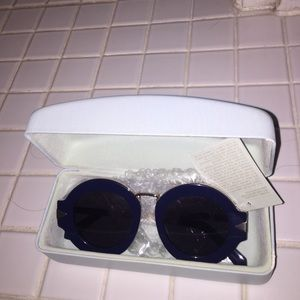 Karen Walker Accessories - New Karen walker maze blue sunglasses