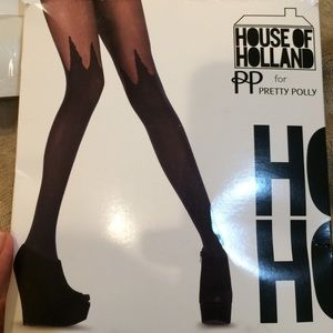 House of Holland Accessories - House of holland for pretty Polly pantyhose