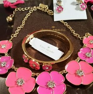 kate spade Jewelry - SALE!!!NWT Kate Spade NY Flutter Floral set