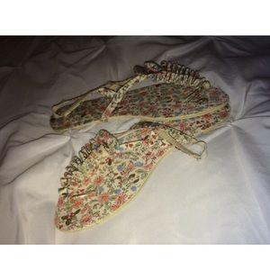 Cotton On Shoes - ✨floral sandals✨