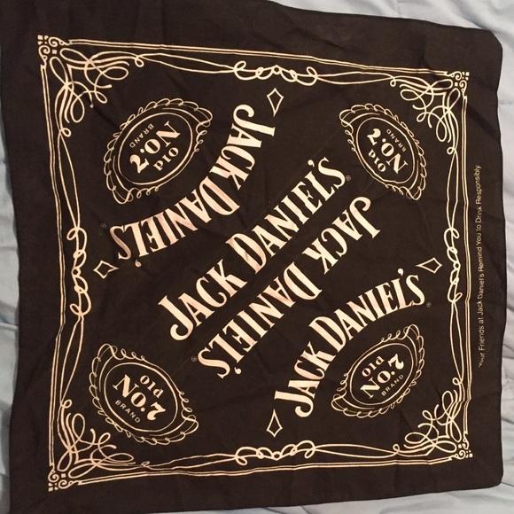 44 off jack daniels accessories jack daniels bandana from ashley 39 s closet on poshmark. Black Bedroom Furniture Sets. Home Design Ideas