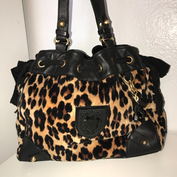 27fc8dd981a5 Juicy couture cheetah purse