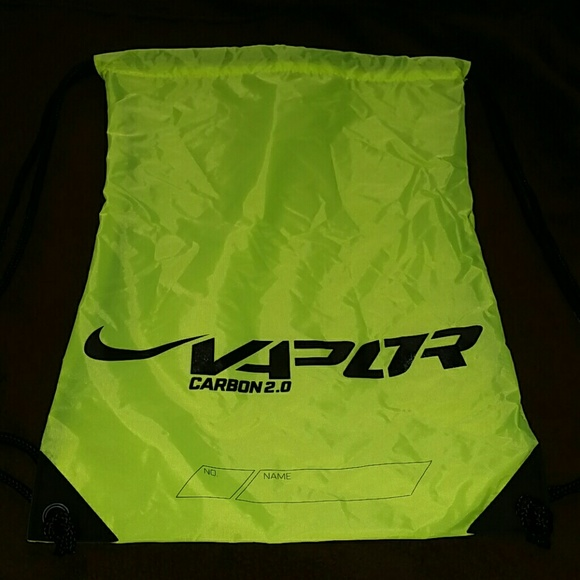 67% off Nike Other - NIKE Neon Yellow/green Vapor drawstring bag ...
