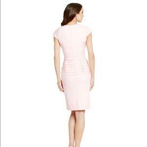 3985153a65 ANTONIO MELANI Dresses - Antonio Melani pink peplum dress