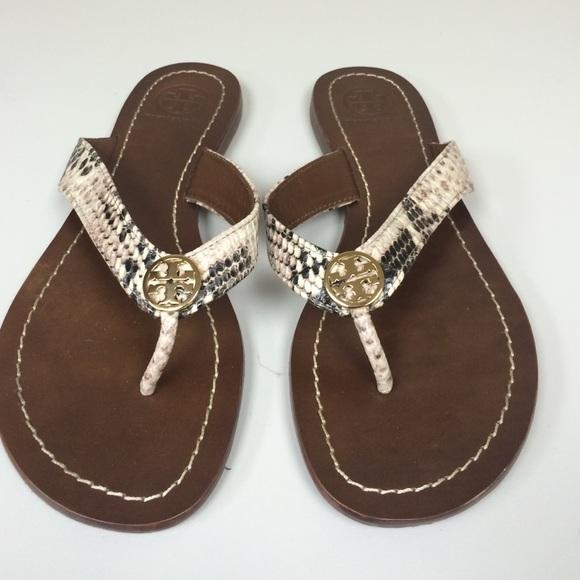1920a0aafdbe Tory Burch Shoes - Tory Burch Thora snake-print Sandals
