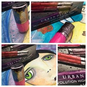 HPx4 URBAN DECAY revolution high color Lipgloss