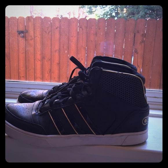 le adidas neolabel metà ascesa blackgold scarpe poshmark
