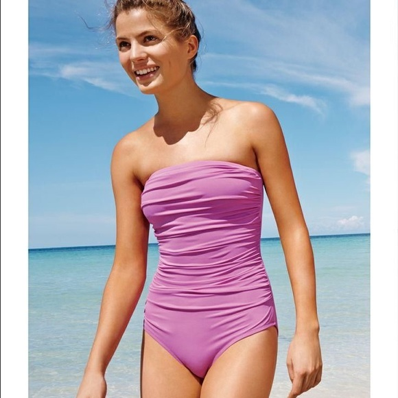 2771e09767b1c J. Crew Other - Jcrew ruched bandeau one-piece swimsuit