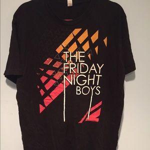 Tops - The Friday Night Boys band tee
