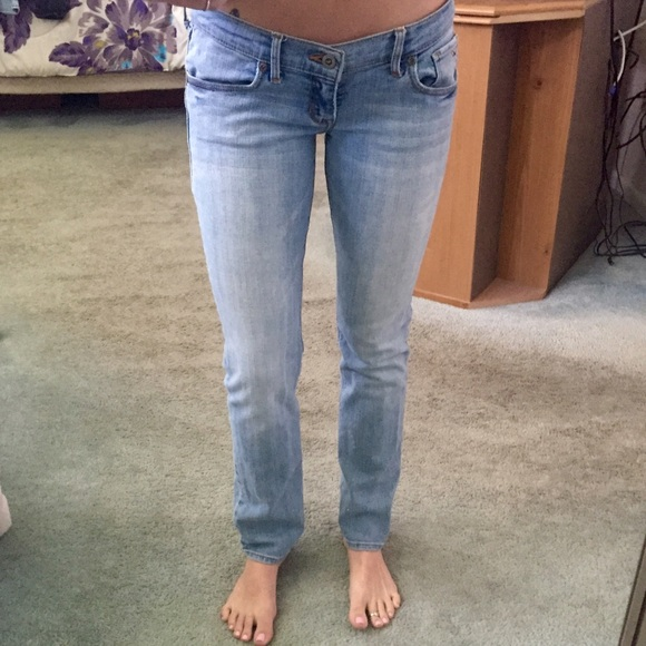 60% off Hollister Denim - Hollister California light blue jeans from Brianau0026#39;s closet on Poshmark