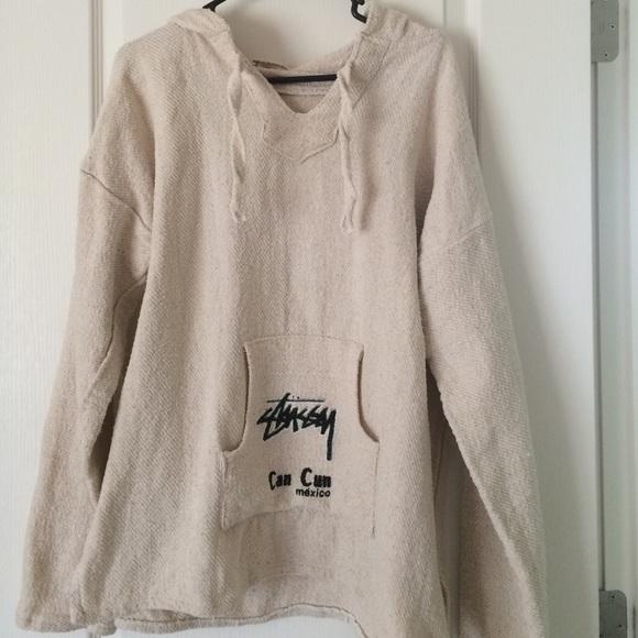 84647ca48e Sale! Vintage Stussy Baja Pullover Hoodie