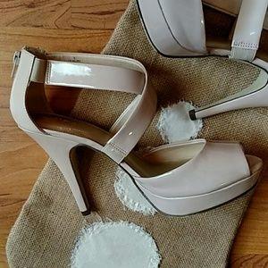 SALE*****XAPPEAL NUDE heels SALE