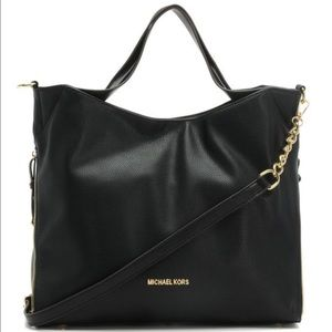 Michael kors black Devon purse