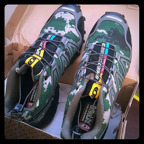 e53fadc1f6be Brand New Salomon Speedcross 3 Digital Camo