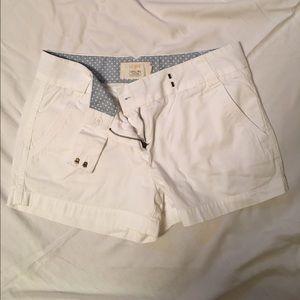 J.Crew Chino Shorts - White, 3-inch