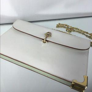 Gorgeous white evening bag