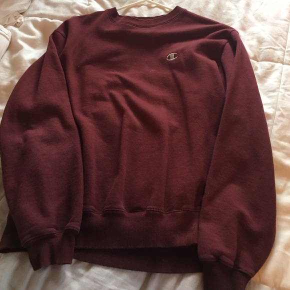 Champion - maroon champion sweatshirt from Danielle's closet on ...