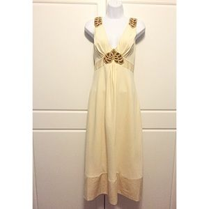 Catherine Malandrino Buttercream Yellow Dress