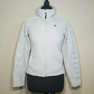 SNOZU Light Grey Zip Up Fleece Jacket!
