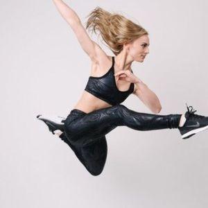 Emily Hsu Designs Pants - Black Lacquer Leggings