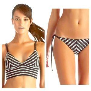 Vitamin A black & white bikini
