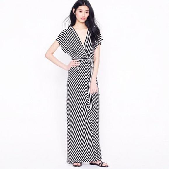 bbf022588c J. Crew Dresses   Skirts - Kimono-sleeve maxidress in stripe