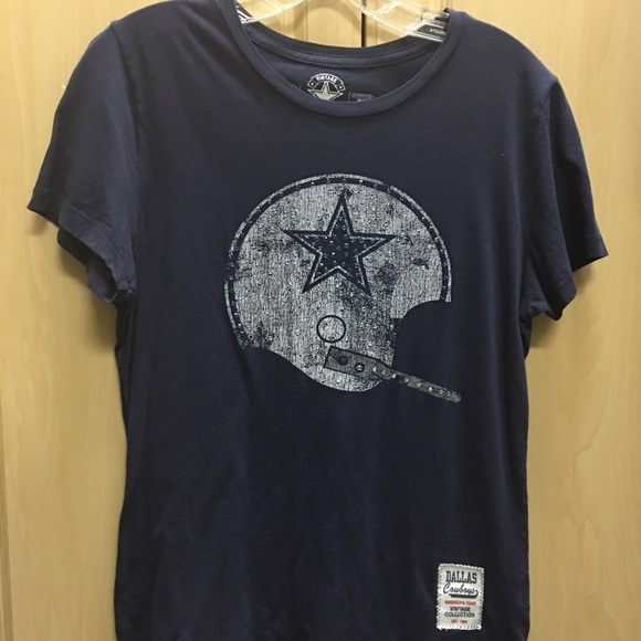 813598030 Vintage Collection Tops | Dallas Cowboys Womens Tee | Poshmark