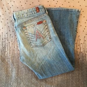 "7 for all Mankind Denim ""A"" Pocket Crops"