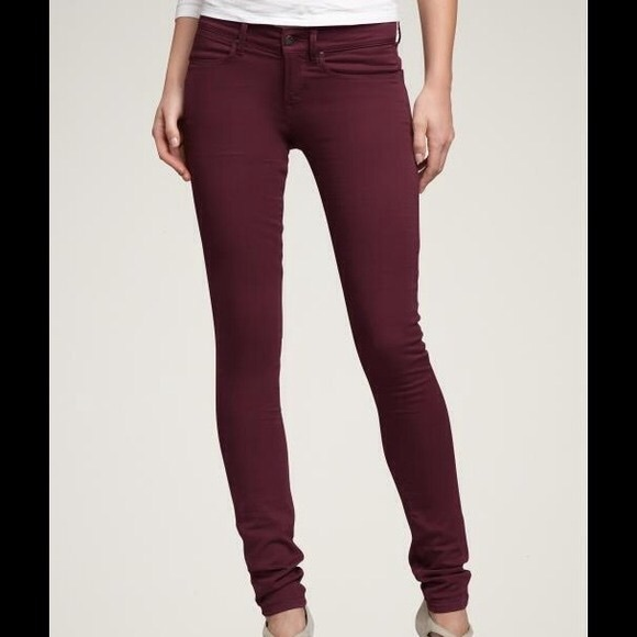 67% off American Eagle Outfitters Pants - Women's AE Maroon Pants ...