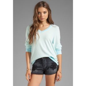 Wildfox Couture Essential VNeck Pullover