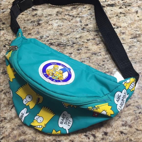 a71166a9d85 Handbags - Vintage Simpson fanny pack♨️sale♨️