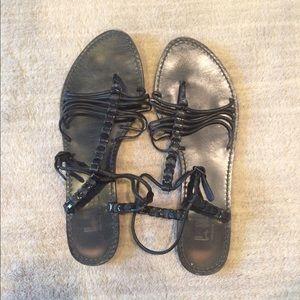 Belle by Sigerson Morrison Shoes - Belle by Sigerson Morrison Black Sandals