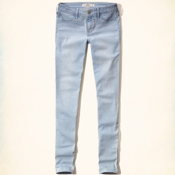78% off Hollister Denim - Hollister light blue jeans from !ud83dudc8bmernau0026#39;s closet on Poshmark