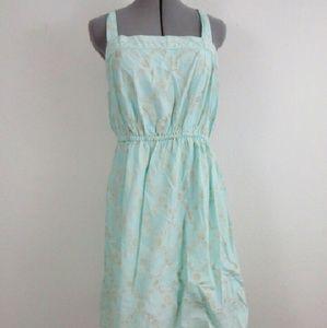 Dresses & Skirts - Mint Blue Strappy Summer Dress, Size XL