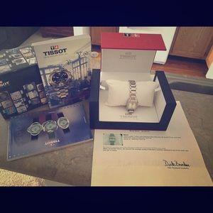 Tissot Jewelry - PRICE DROP ⬇️ REAL-Diamond Tissot Woman's watch