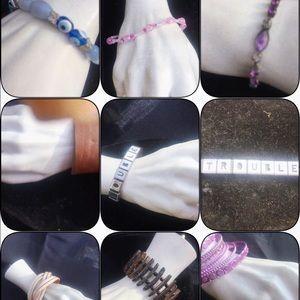 Jewelry - Bracelet grab bag bundle 9 pieces