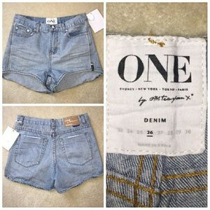 One teaspoon high waisted shorts