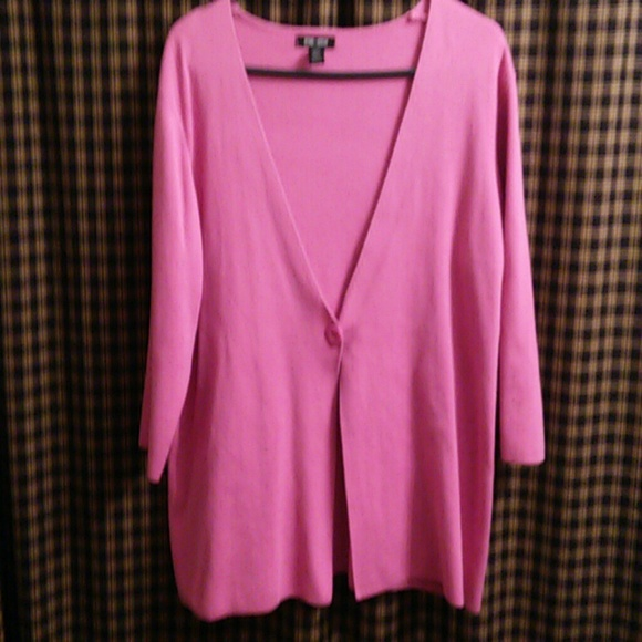 82% off spring   mercer Sweaters - Spring and Mercer Pink Cardigan ...