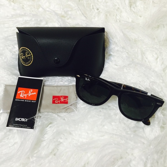 Ray-Ban RB2140 54 Original Wayfarer Sunglasses NWT