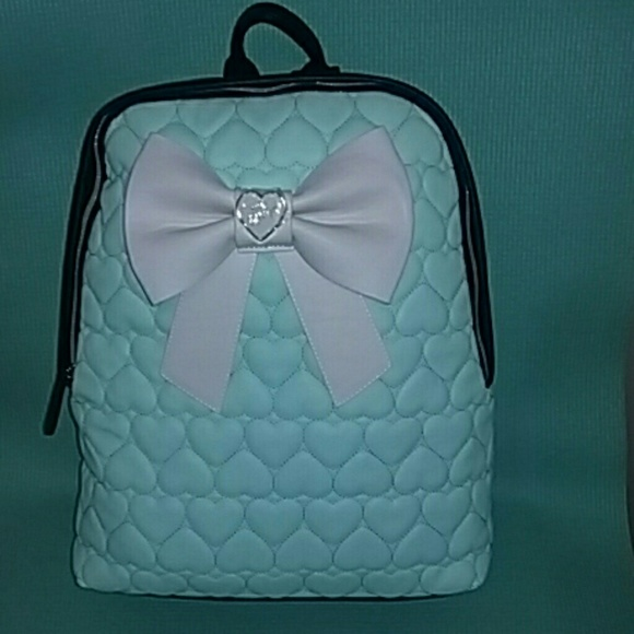 539cbd245d7 Betsey Johnson Handbags - Betsey johnson leather backpack