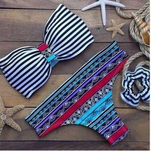 Sexy sailor bathing suit