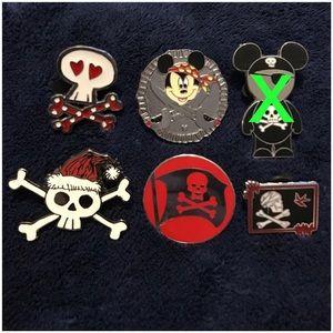 Accessories - Disney Pirate Pins