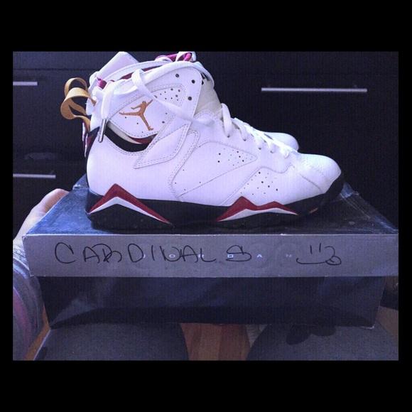 online store cfd00 1d5b5 Jordan cardinals air Jordan 7 retro new