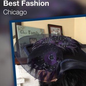 Accessories - Purple passion with blue rim