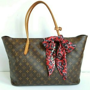 HP! LOUIS VUITTON RASPAIL MM MONOGRAM BAG