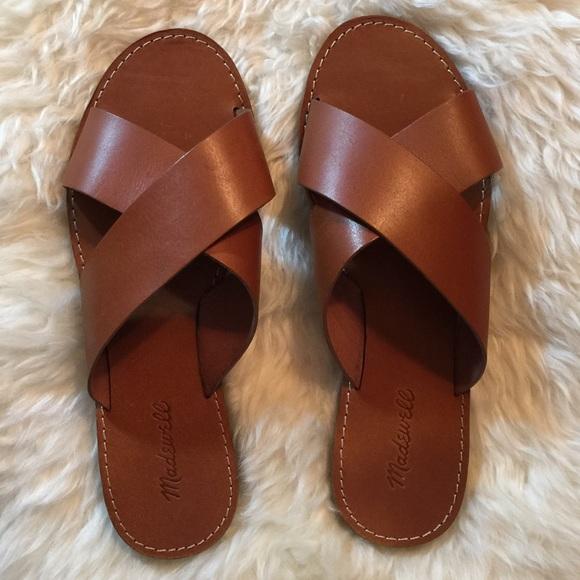Madewell Shoes Nwot Boardwalk Slide Sandals Poshmark
