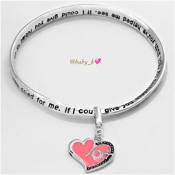 boutique pink charm bracelet from baby k s