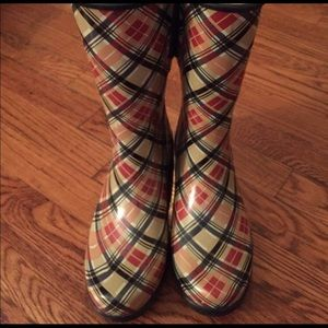 Sperry Top-Sider Shoes - Sperry Top-Sider Plaid Rain Boots