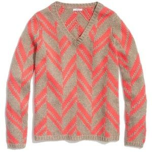 Madewell Chevron Stitch Sweater