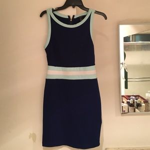 Nautical fitted dress